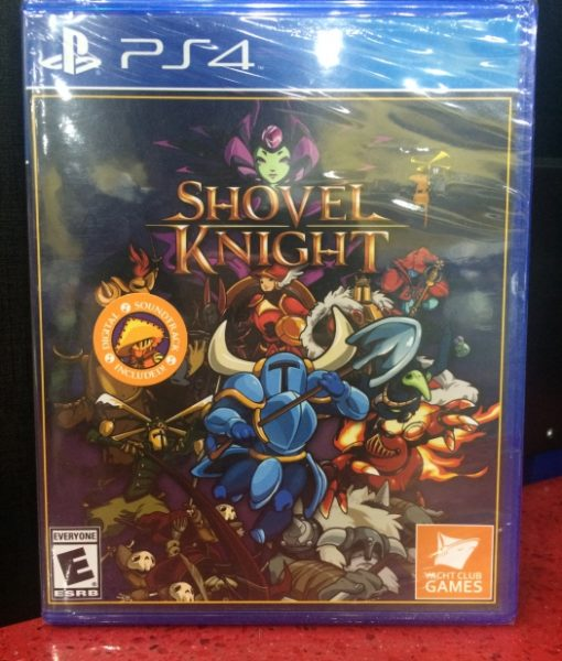 PS4 Shovel Knight game