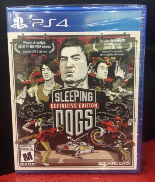 PS4 Sleeping Dogs Definitive Edition game