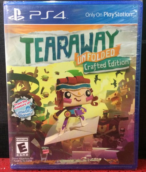 PS4 Tearaway game