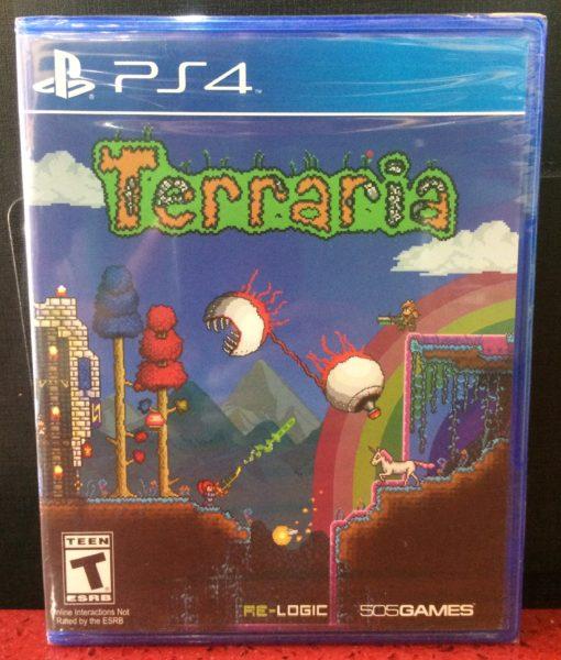 PS4 Terraria game