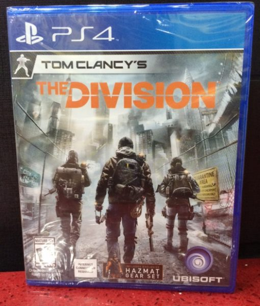 PS4 The Division game