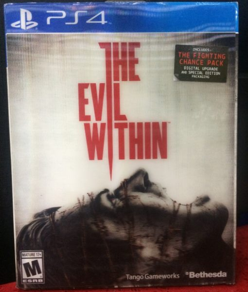 PS4 The Evil Within game