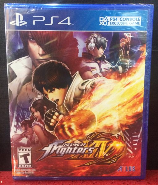PS4 The King of Fighter XIV game