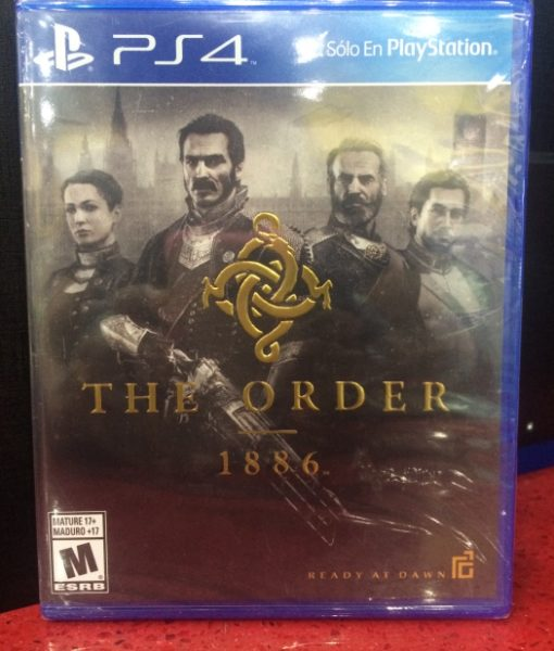 PS4 The Order 1886 game