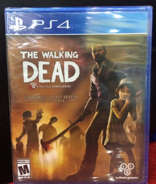 PS4 The Walking Dead First Season game