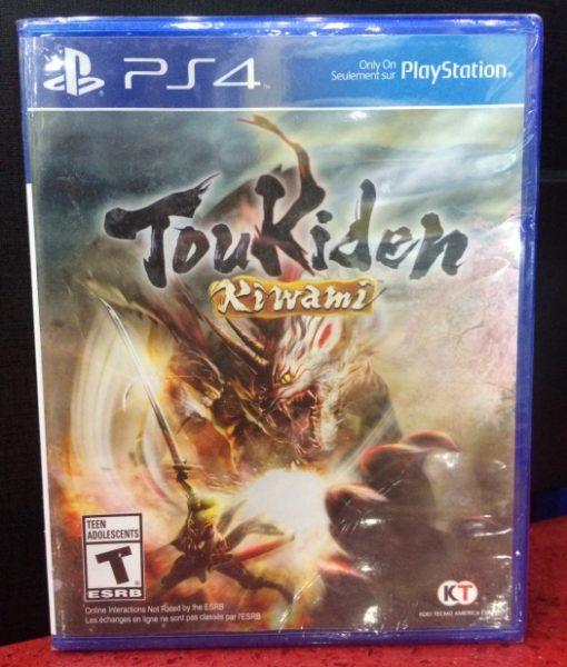 PS4 Toukiden Kiwami game
