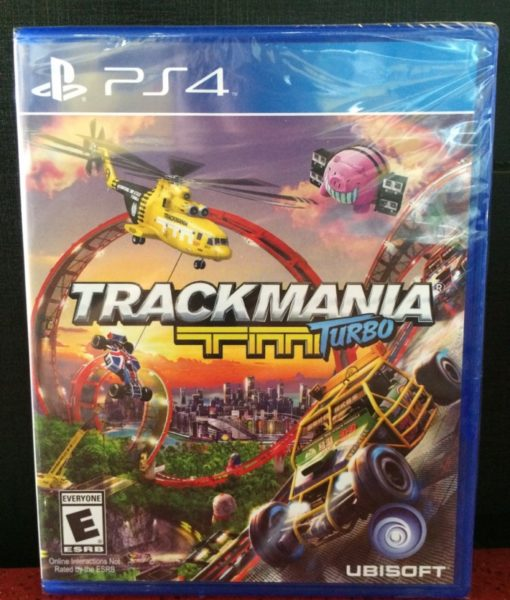 PS4 Trackmania Turbo game