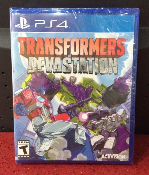 PS4 Transformers Devastation game