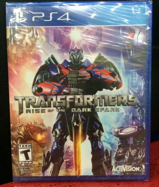 PS4 Transformers Rise Dark Spark game