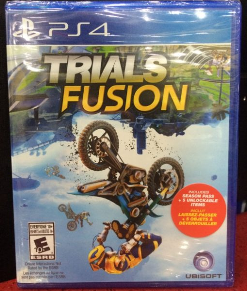 PS4 Trials Fusion game