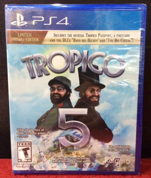 PS4 Tropico 5 game