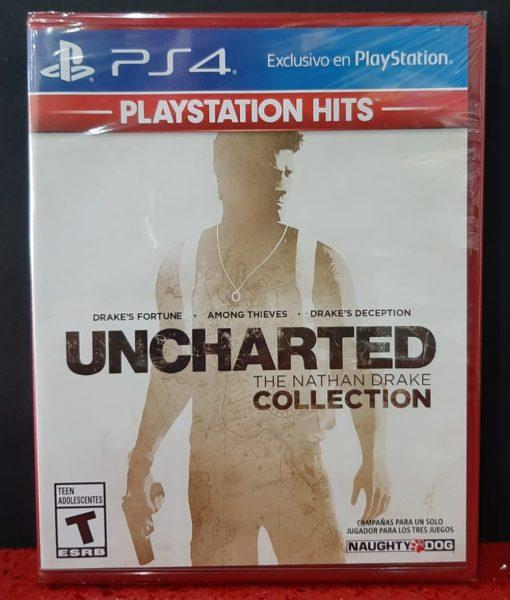 PS4 Uncharted The Nathan Drake Collection latino