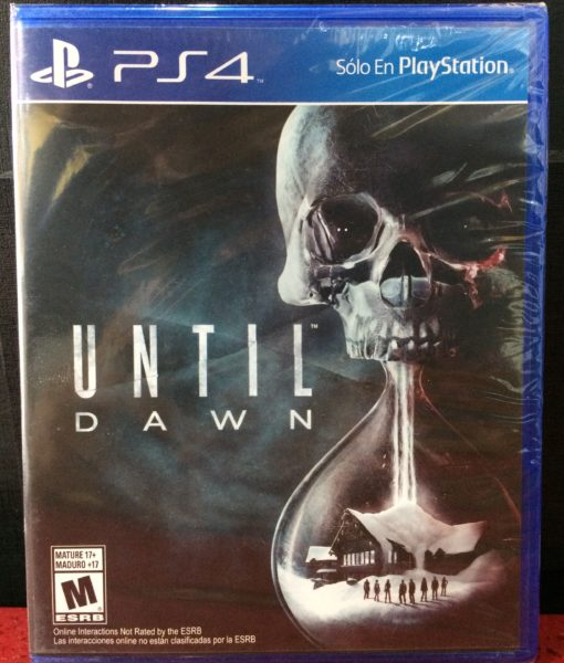 PS4 Until Dawn game