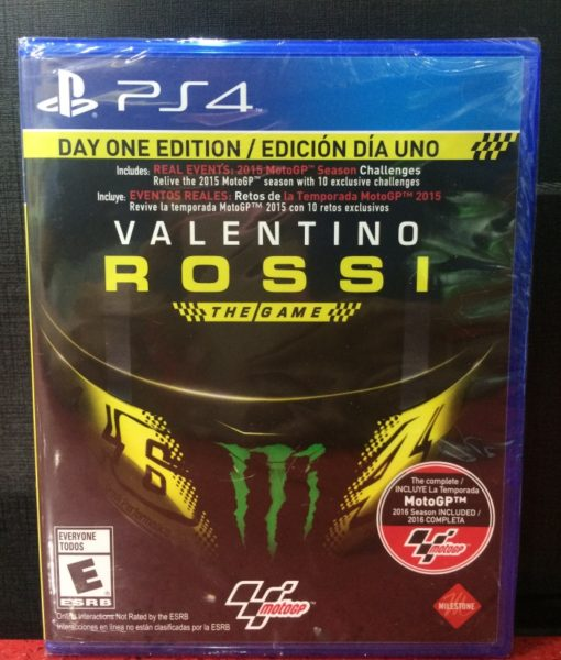 PS4 Valentino Rossi Moto GP game