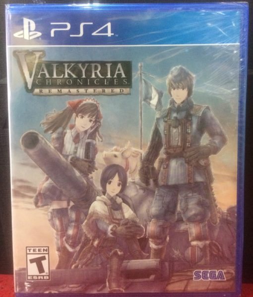 PS4 Valkyria Chronicles Remastered game