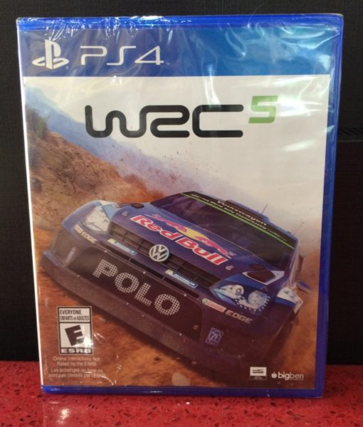 PS4 WRC 5 Rally game