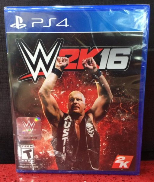 PS4 WWE 2K16 game