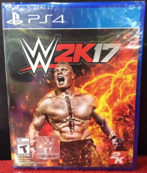 PS4 WWE 2K17 game