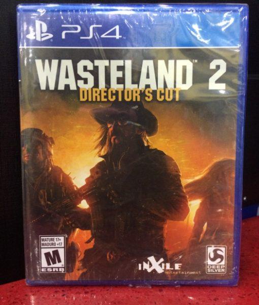 PS4 Wasteland 2 game