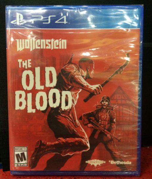 PS4 Wolfenstein The Old Blood game