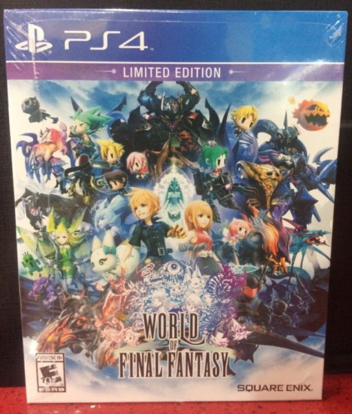 PS4 World of Final Fantasy game