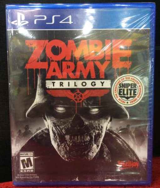PS4 Zombie Army Trilogy game