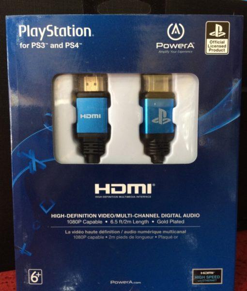 PS4 HDMI cable PowerA