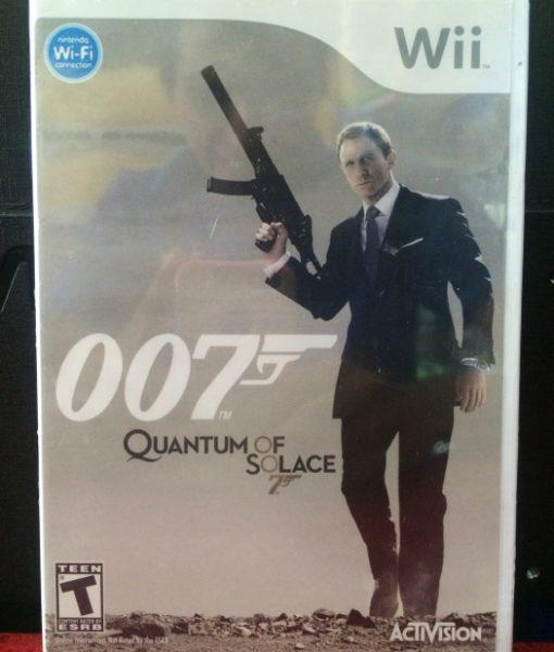 Wii 007 Quantum Solace game