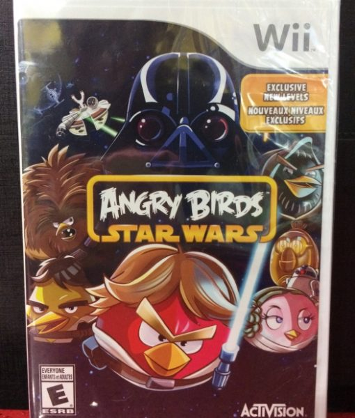 Wii Angry Birds Star Wars game