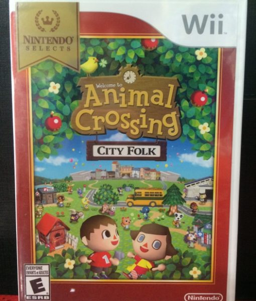 Wii Animal Crossing City Folk game