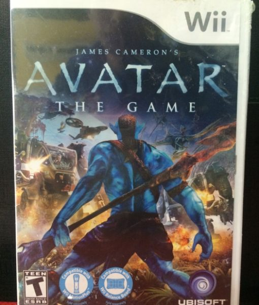Wii Avatar The Game
