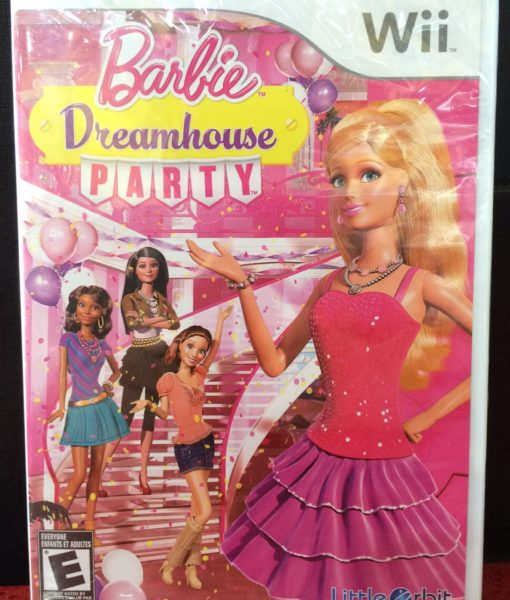 Wii Barbie DreamHouse Party game