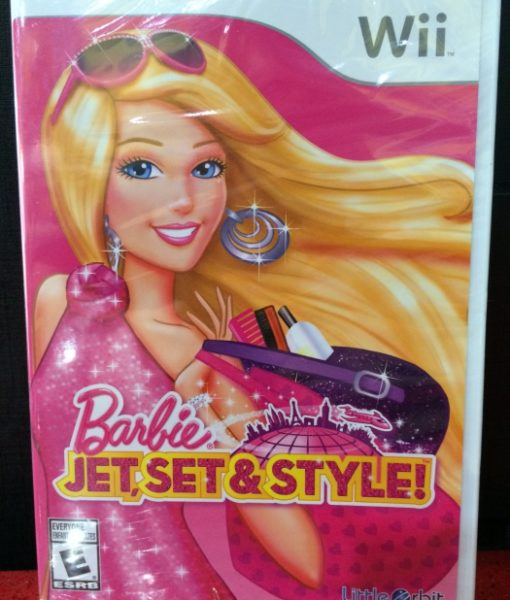 Wii Barbie Jet Set Style game