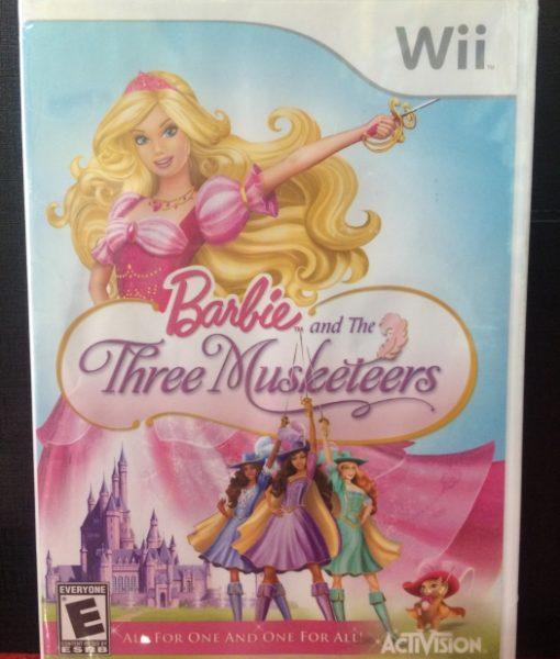 Wii Barbie Three Musketeers game