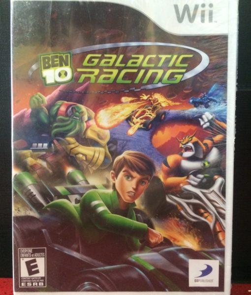 Wii Ben 10 Galactic Racing game