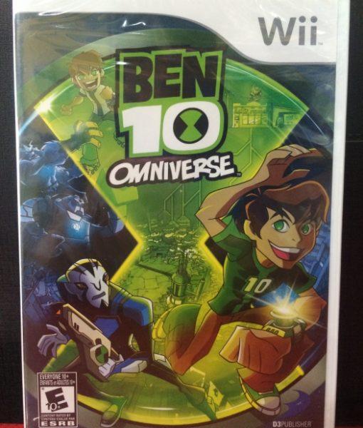 Wii Ben 10 Omniverse game