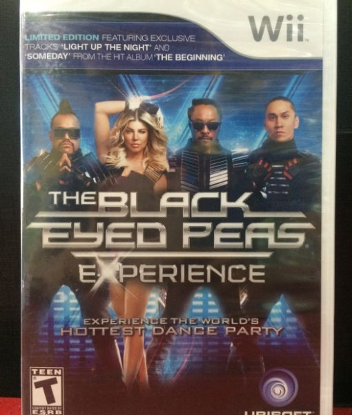 Wii Black Eyed Peas Experience game