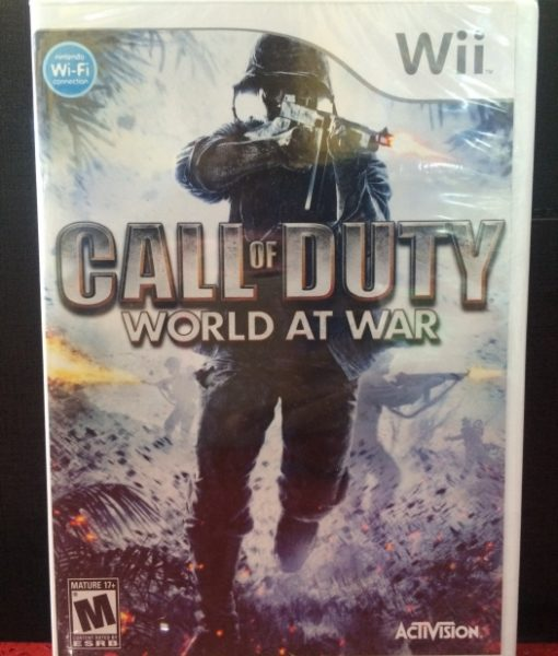 Wii Call of Duty 5 World at War game