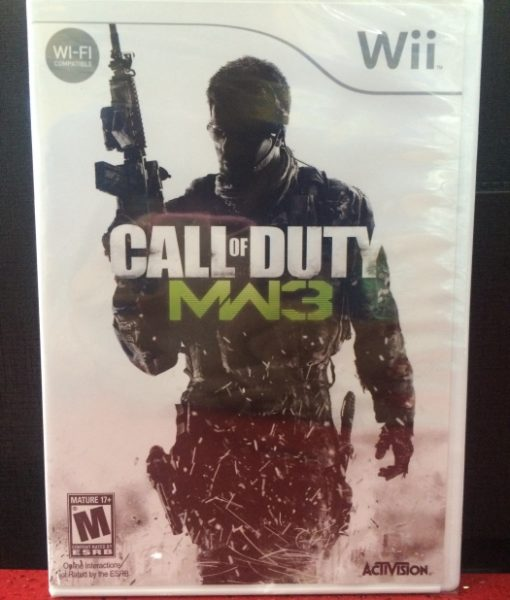 Wii Call of Duty Modern Warfare 3 game