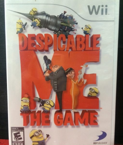 Wii Despicable Me The game