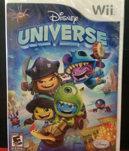 Wii Disney Universe game