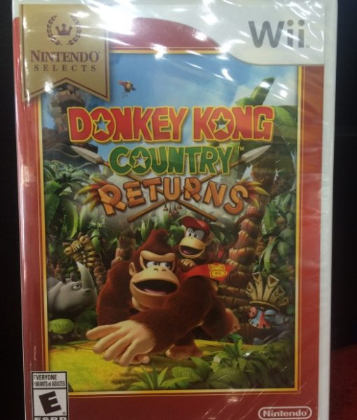 Wii Donkey Kong Country Returns game