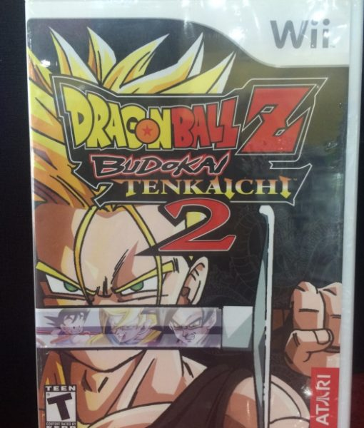 Wii Dragon Ball Tenkaichi 2 game