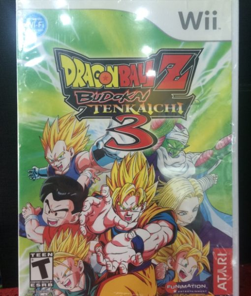 Wii Dragon Ball Z Tenkaichi 3 game