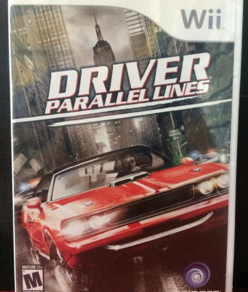 Wii Driver Parallel Lines game