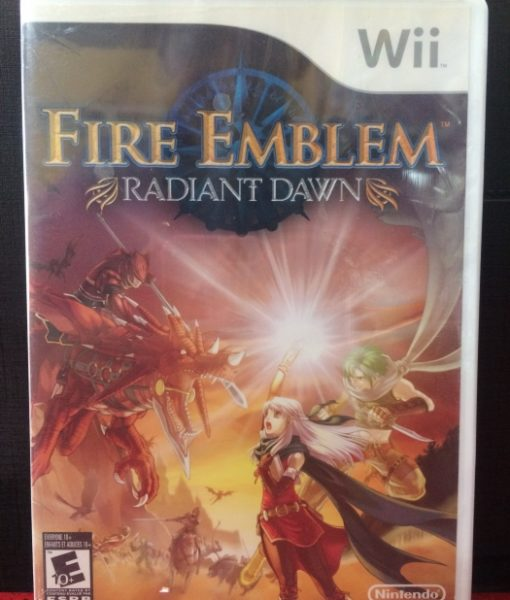 Wii Fire Emblem Radiant Dawn game