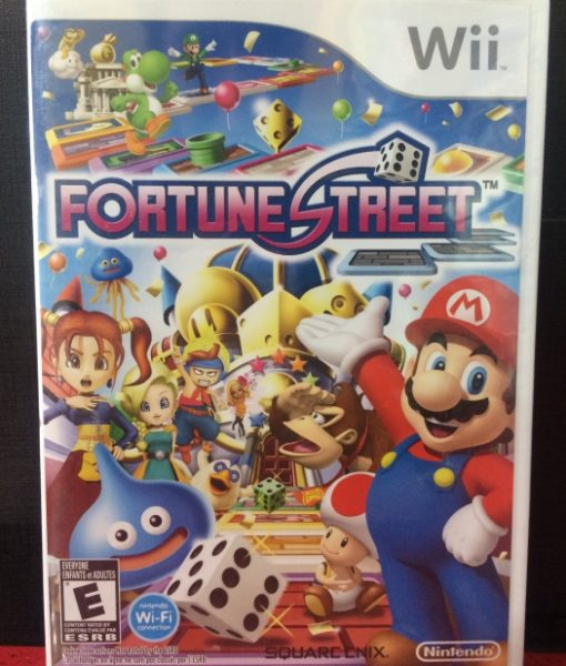 Wii Fortune Street game