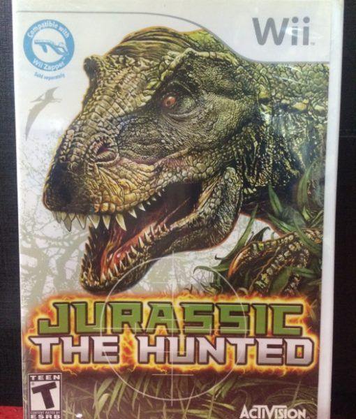 Wii Jurassic The Hunted game