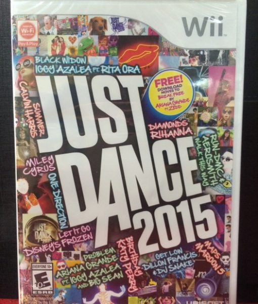 Wii Just Dance 2015 game