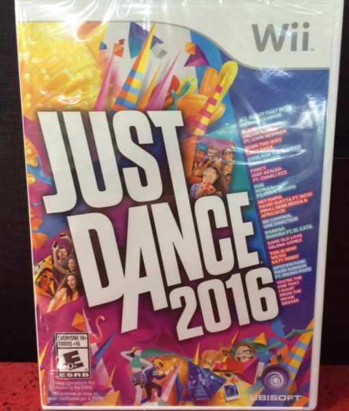 Wii Just Dance 2016 game